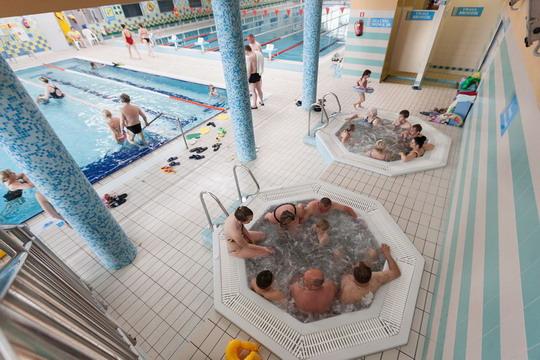 Ustronie Morskie Noclegi | Aquapark Helios  jacuzzi