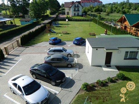 Ustronie Morskie Noclegi | Pensjonat Pod Dmuchawcem - Parking