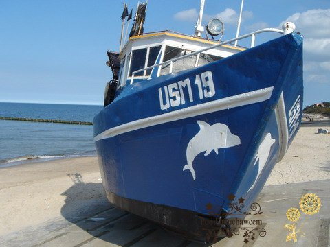 Ustronie Morskie Noclegi | Kuter rybacki