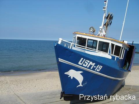 Ustronie Morskie Atrakcje | Przystań rybacka