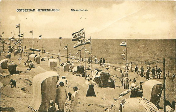 Noclegi Ustronie Morskie | Henkenhagen plaża