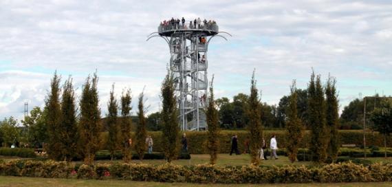 Noclegi Ustronie Morskie | Ogrody Hortulus wieża widokowa