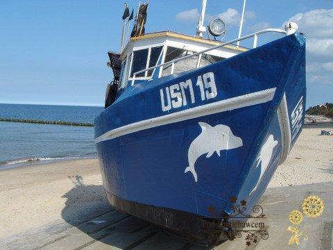 Ustronie Morskie Noclegi | Pensjonat Pod Dmuchawcem - Przystań rybacka