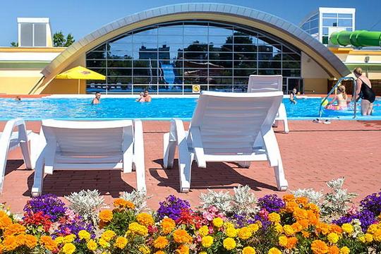 Ustronie Morskie Noclegi | Aquapark Helios - Panorama