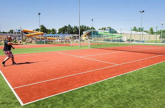 Ustronie Morskie Noclegi | Helios - Korty tenisowe