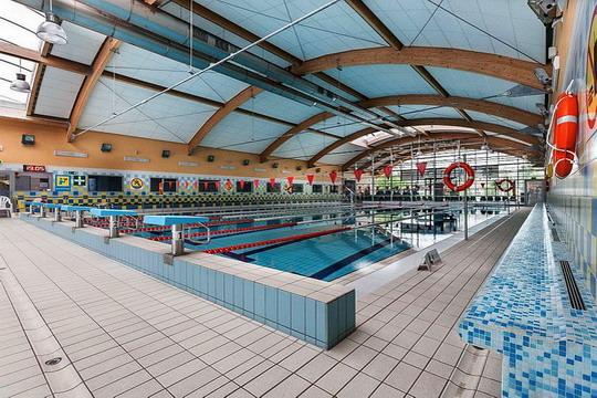 Ustronie Morskie Noclegi | Aquapark Helios - Tor pływacki