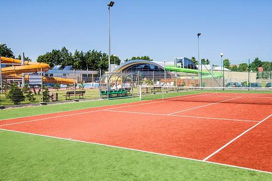 Ustronie Morskie Noclegi | Helios - Kort tenisowy